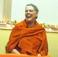 Swami - laughing