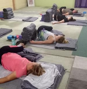 Wed yoga 1
